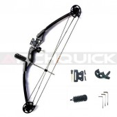 Compound bow hunting archery bow shooting target 30-40lbs RH Black KIT-A