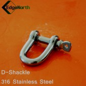 D-Shackle - 316 Stainless Steel For Shade Sail ,Tent Boat Camping Outdoor 8mm