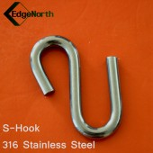 S-Hook - 316 Stainless Steel For Shade Sail ,Tent Boat Camping Outdoor 8mm