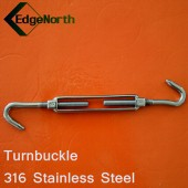 Turnbuckle - 316 Stainless Steel For Shade Sail ,Tent Boat Camping Outdoor 8mm